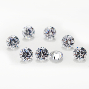 1000pcs/pack 1mm 2mm 3mm CZ Stone White Round Cubic Zirconia for Jewelry
