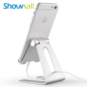 Metal support brackets vertical desktop stand aluminium alloy multiangle adjustable mobilephone holder stand for iphone stand
