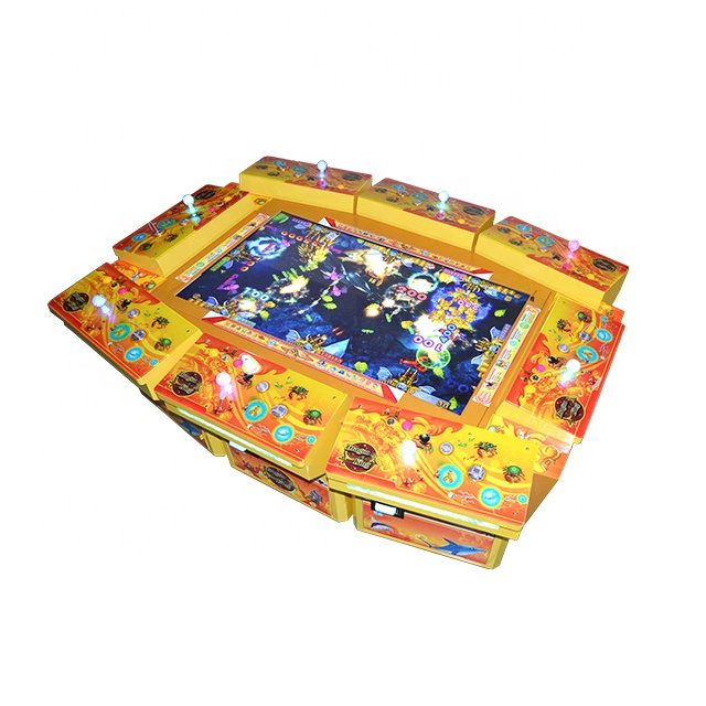 Coin Operated Games Verdienen Geld Oceaan Koning 2 Game Board Schieten Vis Game Machine Te Koop