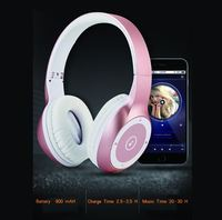 New Bee T8 cool design metal headphone, factory price ANC blue tooth headset with mic for iphone