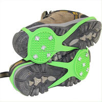 Non-slip climbing crampons for shoes/ice cleats