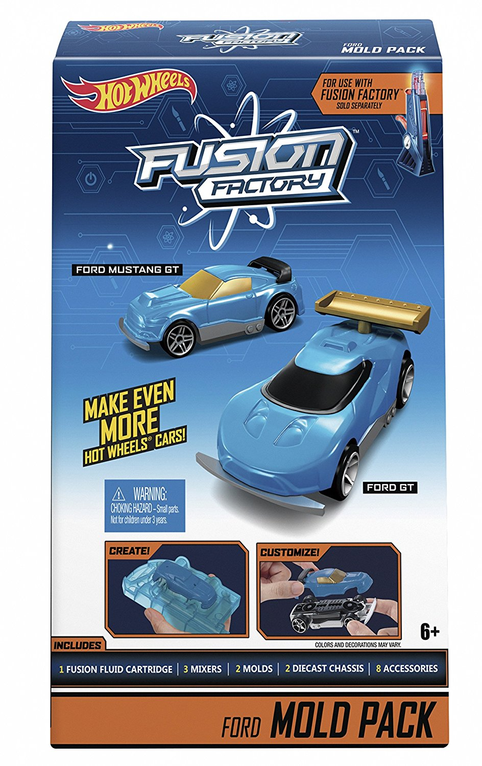 RED HOT WHEELS FUSION FACTORY COLOR REFILL KIT