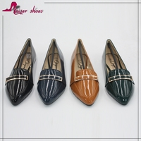 SSK16-051 factory famous brand fashion high-end customized shoe woman