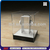 TSD-A134 custom store pos clear perspex or acrylic display box model for headphone,desktop earphone sample acrylic display case