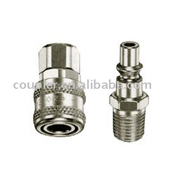 Pneumatic Aro Type Steel Quick Coupler For Air Tool - Buy Air Hose  Fitting,Pneumatic Quick Coupling,Quick Disconnect Coupling Product on  Alibaba com
