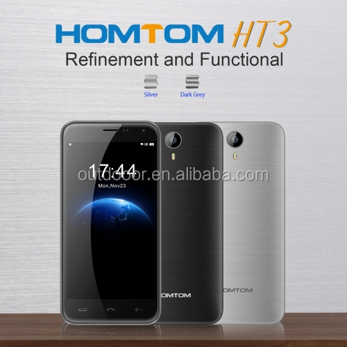 HOMTOM HT3 8GB, Network: 3G 5 inch Android 5.1 MTK6580A Quad Core 1.3GHz Smartphone