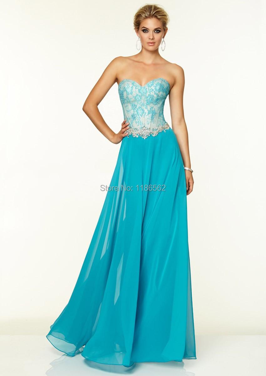 57be2b06d vestidos largos de fiesta azul turquesa