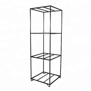 Hot Sale Three Cubes Wheel Display Rack