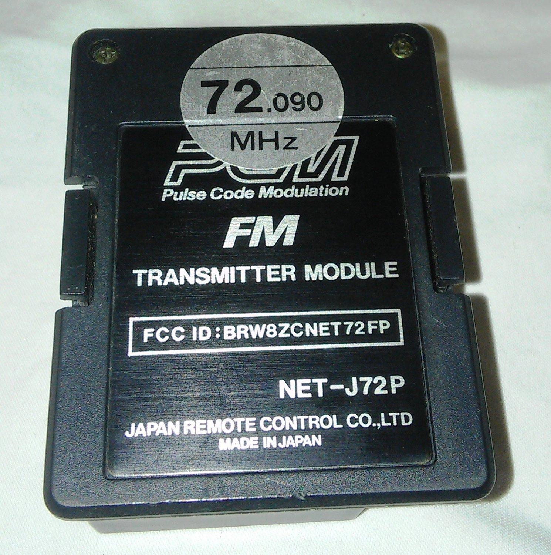 JR PCM FM Transmitter Module NET-J72P 72.090 MHz Channel 15 - JR / FrSky /9XR