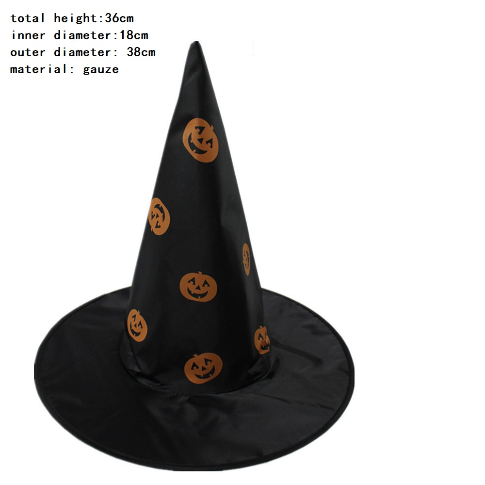 Hot Sale High Quality halloween witch hat decoration