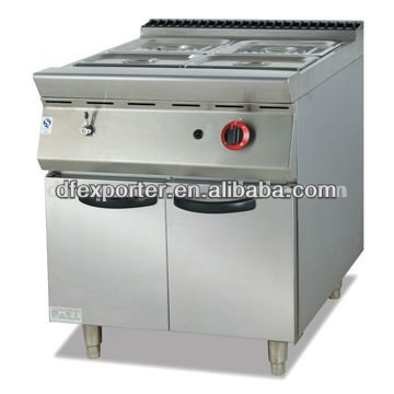 gas bain marie with cabinet JSGH-984-2