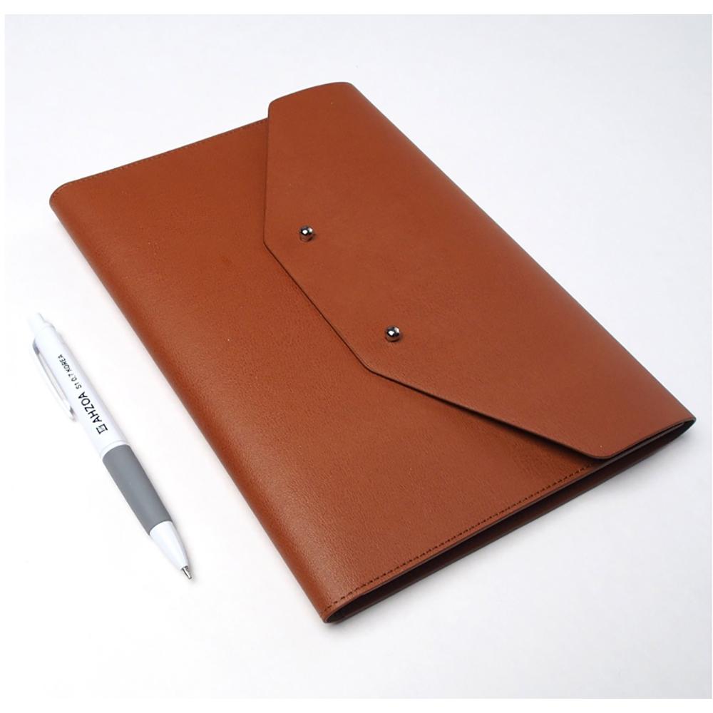 Cow Leather Warehouse Men Women Handmade Office Folder Multipurpose ...