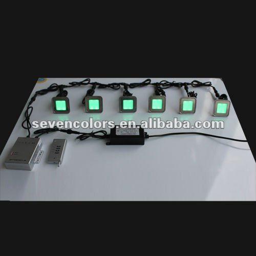 Square LED Lighted Floor Tiles Lighting/ Plinth Light / Deck Lighting(SC-B102C)