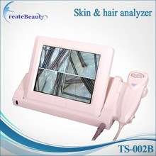 best selling DSP image processor skin Analyser / skin and hair detector for spa