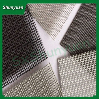 Bullet Proof 316 Stainless Steel Wire Mesh,Security Window Screen ...