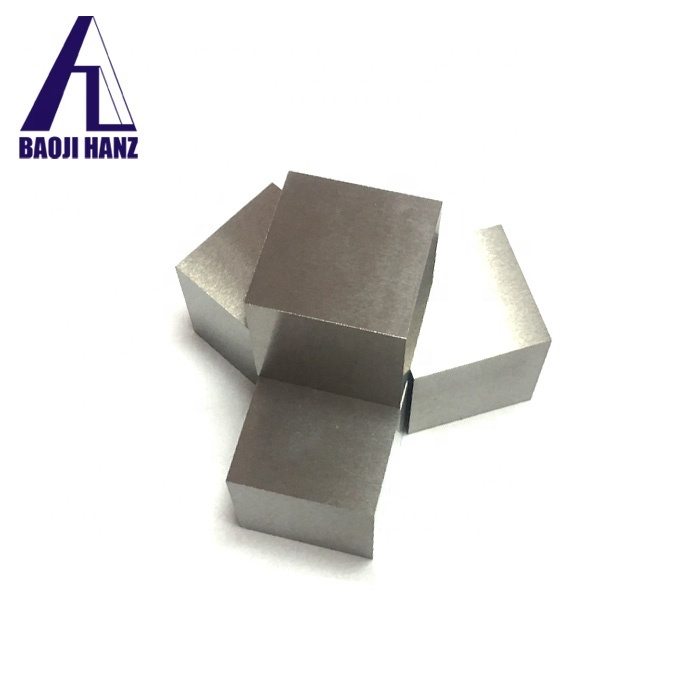 China supplier hight quality customized tungsten ingot and cube