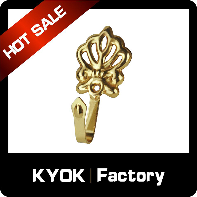 KYOK Graceful operation control motorized curtain hooks,0.8mm thickness turkish curtains rod accessories