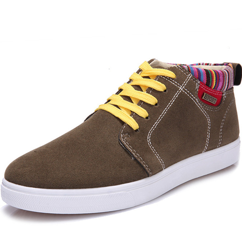New Brand 2015 Sneakers For Man Canvas Shoes Sapatos Masculinos Casual Breathable Massage Man Sneakers Spring Black Brown 39-43