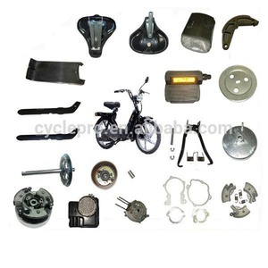 Different of spare parts for Piaggio Ciao Si & Bravo Motorcycle parts