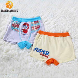 High quality cute boxer shorts anime for child boy