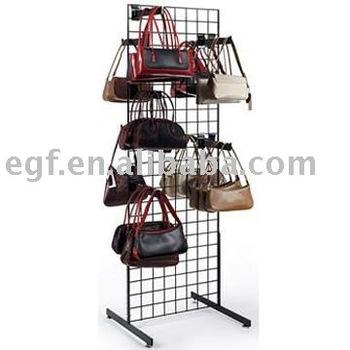Metal Display Rack For Handbags Handbag Hanger Fixture