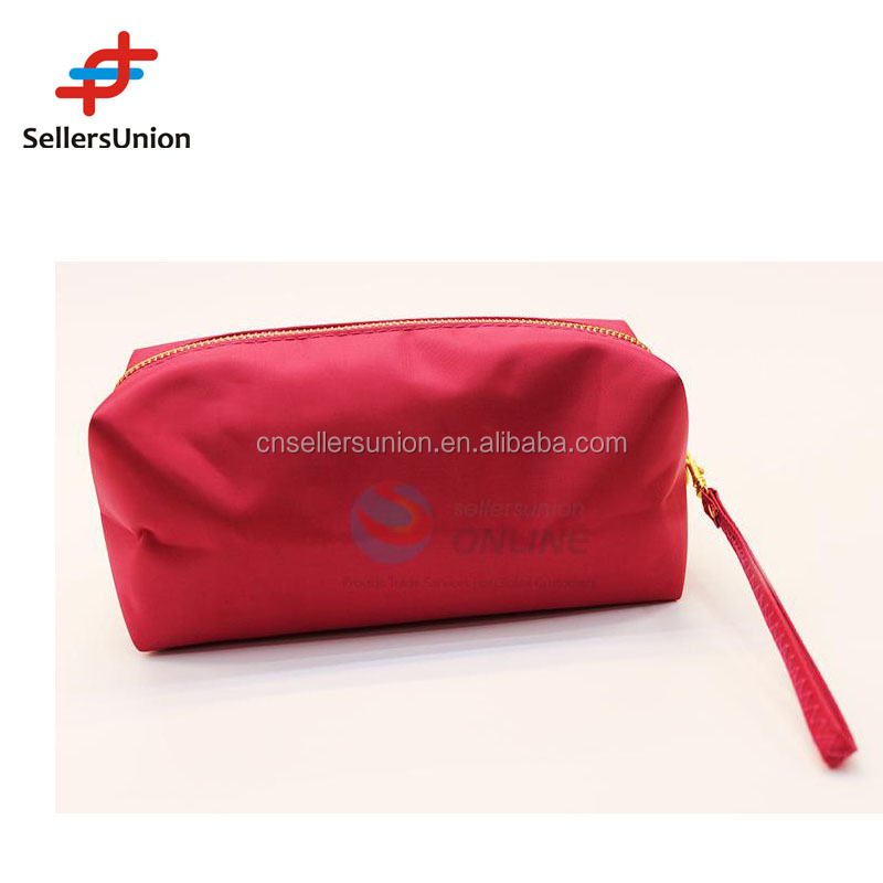 Rose Red Makeup Travel Toiletry Fashion Cosmetic Bags different size OEM&ODM