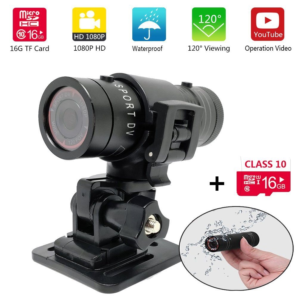 Cheap Video Camera Bike Helmet Find Deals Replay Xd1080 Full Hd Get Quotations 16gb Mini Sports Dv 1080p Motorcycle Waterproof Action For