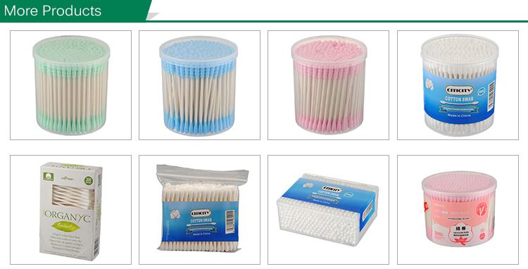 Su misura organico naturale di bambù spazzolino da denti 3 pcs set