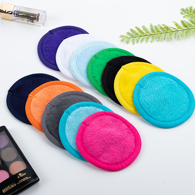 Wholesale custom cosmetic makeup remover pads фото