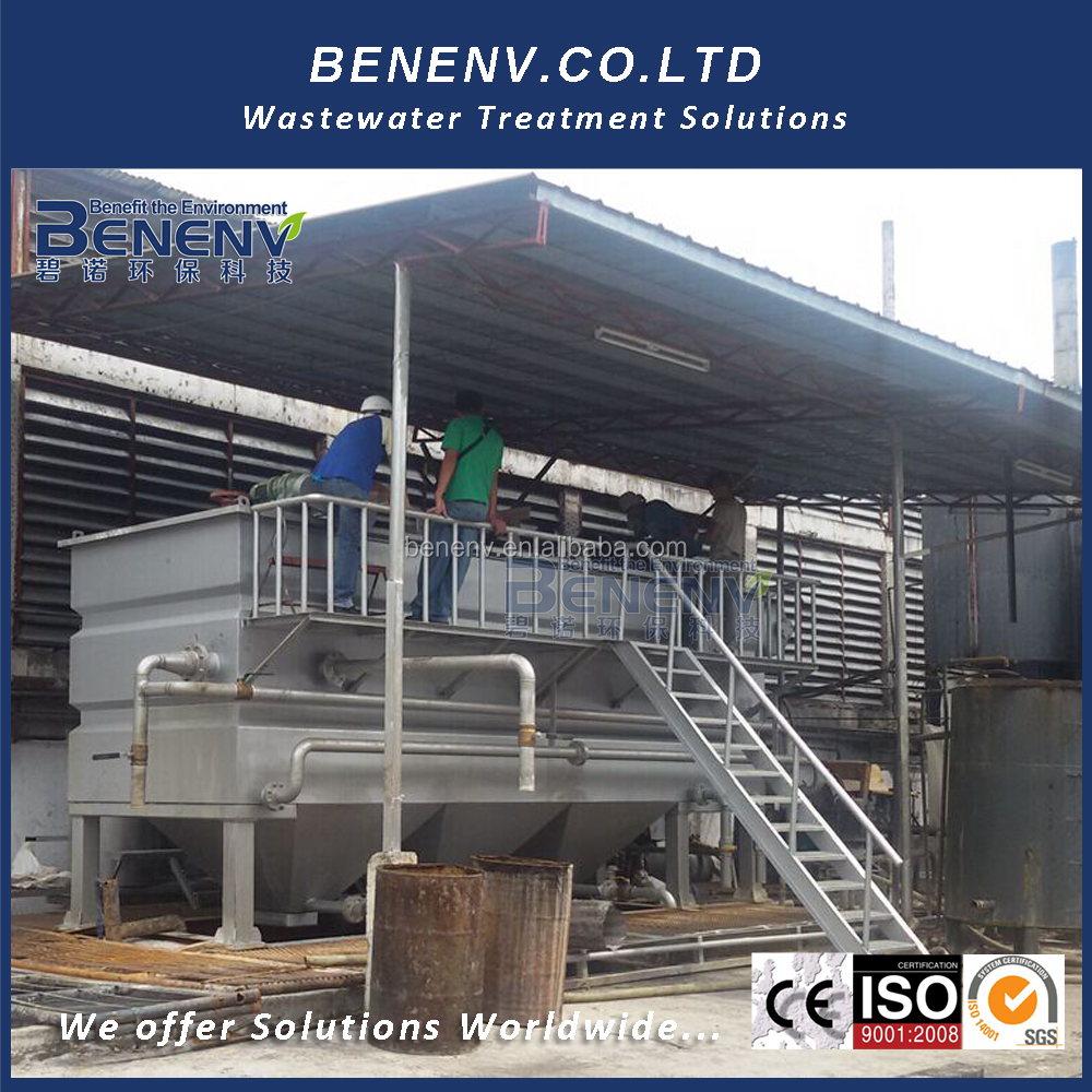Air Compressor and Water Separator Package Wastewater Treatment Plant Company Dissolved Air Flotation Equipment for Power Plant