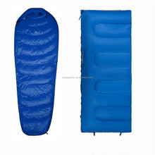 Woqi best selling products 2017 in usa silk camping sleeping bag liner / down mummy sleeping bag / envelope sleeping bag