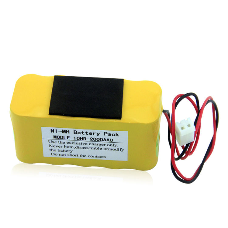 Factory price Bangjian 10HR-2000AAU Ni-MH 12V battery pack with high quality