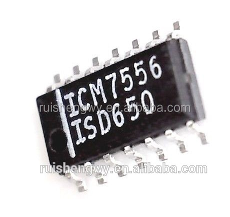 ICL7662CBD ICM7556ISD ICM7556 Series 18 V 600 uA 500 kHz Surface Mount 555 Type