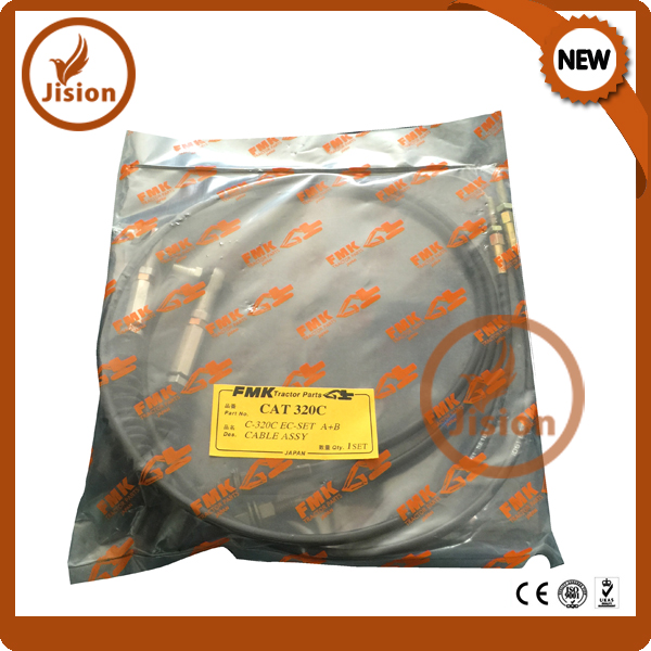 E320C excavator throttle motor cable double