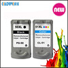 Factory supply PG50 CL51 ink cartridge for Canon MP150/MP160/MP170/MP180/MP450/MP460