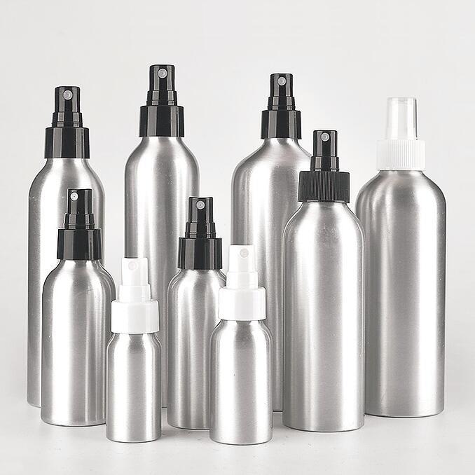 30ml 50ml 100ml 150ml 200ml 300ml 500ml 1000ml aluminum bottle with tempproof cap