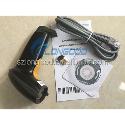 Wireless Barcode Scanner bar Code Reader 2.4G 10m Laser Barcode Scanner Wireless/Wired