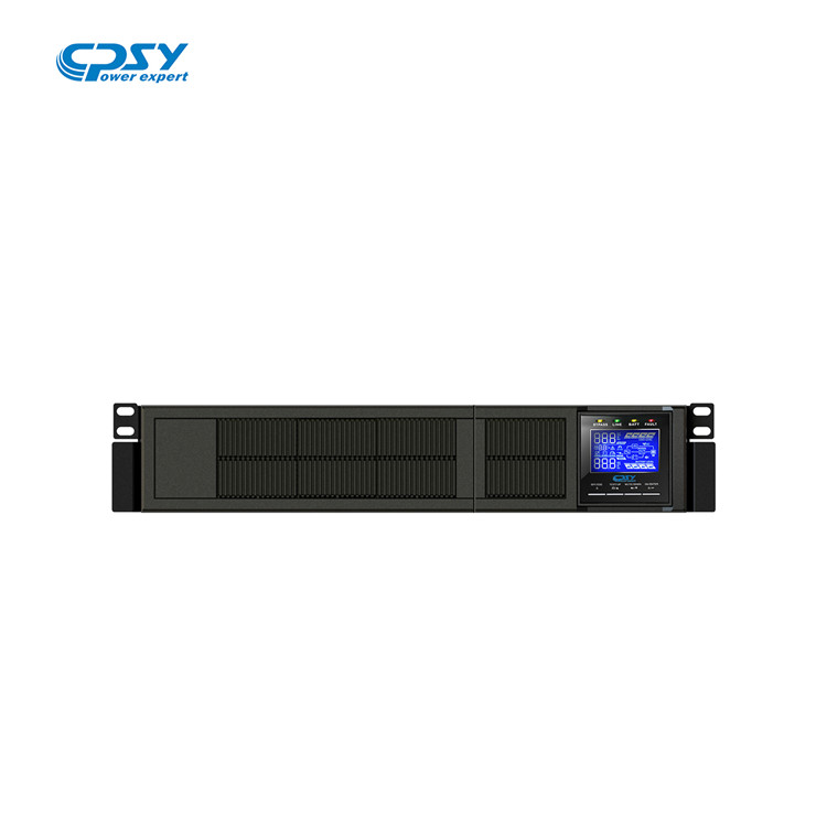China manufacturer customized pure sine wave rack mount ups for telecom