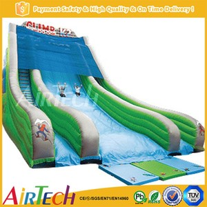 children and adults outdoor inflatable giant slide for sale