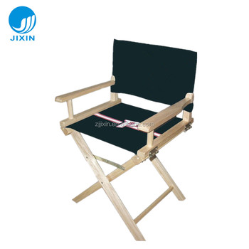 Tall Folding wooden Director Chairs