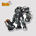Bevle 9118 OW Shooting Game Reinhardt Wilhelm Fashion Sticker Notebook Waterproof Tide 3M Sticker Fridge Skateboard