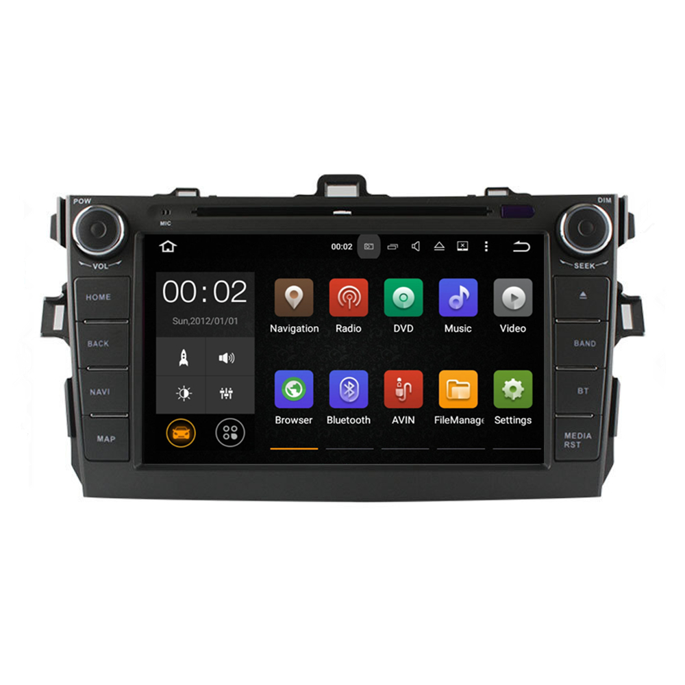 Android 5.1.1 1GB Ram 16GB flash car radio dvd gps navigation system for <strong>Toyota</strong> <strong>corolla</strong> 2006 2007 2008 2009 2010 2011