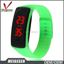 China factory cheap price adjustment coloful custom logo led digital watches