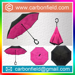 New invention umbrella and upside down umbrella Newly-developped Anti-wet Reverse Open Upside Down