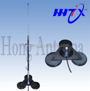 Broadband 3.75-50.5mhz HF CB mobile communication antenna,hf antenna turner