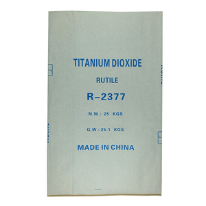 China pp woven chemical bag titanium dioxide packing bag