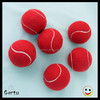 2016 Red color 2inch short felt tennis ball