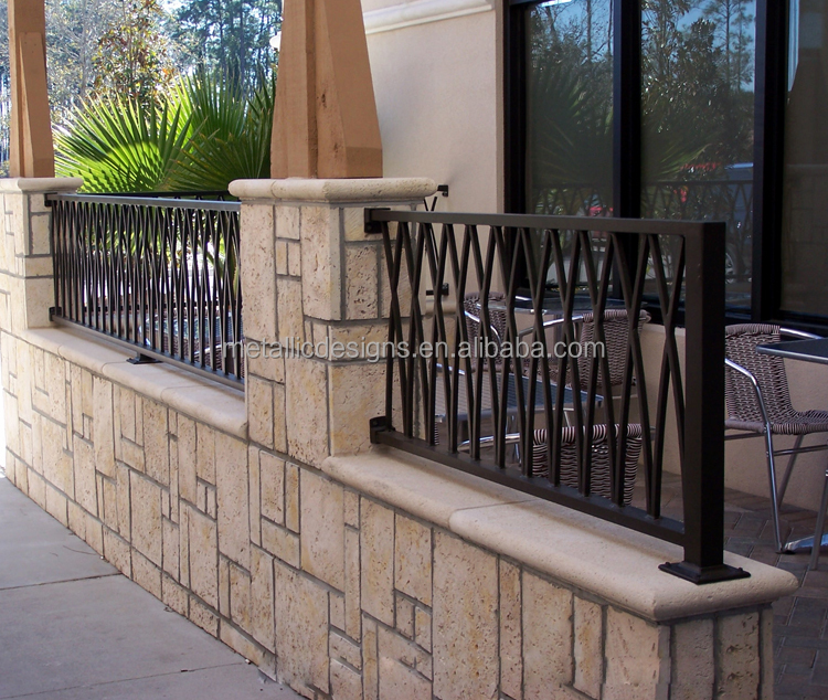 Paint Iron Railing For Balcony Outside Balcony Railing