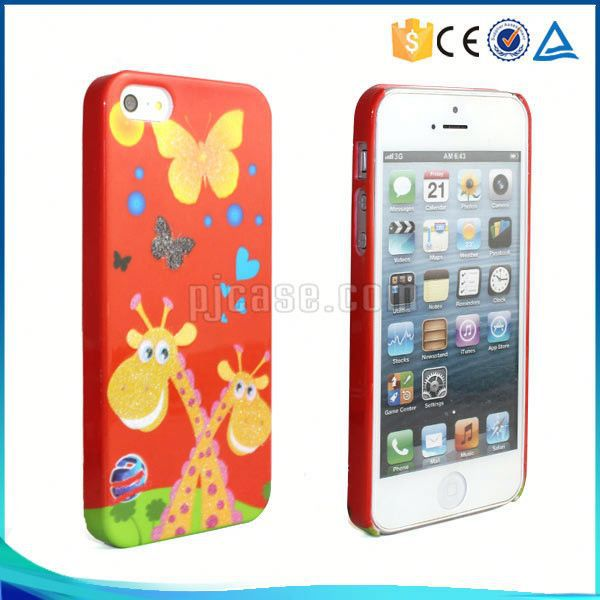 Hot sale water transfer printing pc phone back cover for LG Magna
