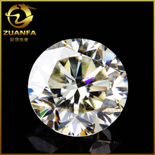 top quality excellent cutting D-E color 11mm pure white moissanite loose stones